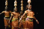 Founder Stephen Rwangyezi and his Ndere Troupe