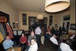 Impressions from the Party in Café Harrach